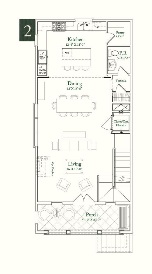Somerset Green Floor Plan